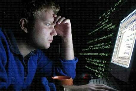 программист за компом