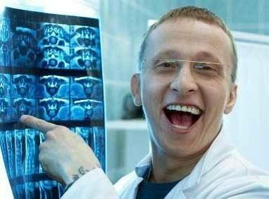 прикольный врач