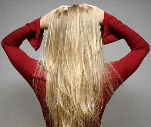 волосы смешной блондинки