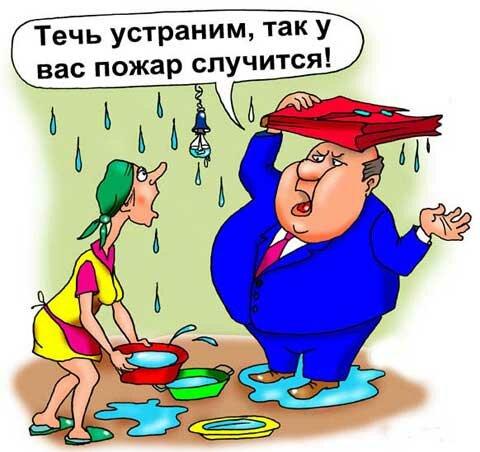 карикатура чиновник жека