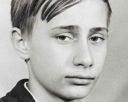 Путин в детстве