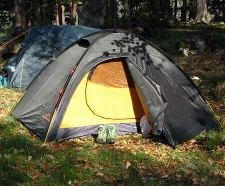 палатка туриста