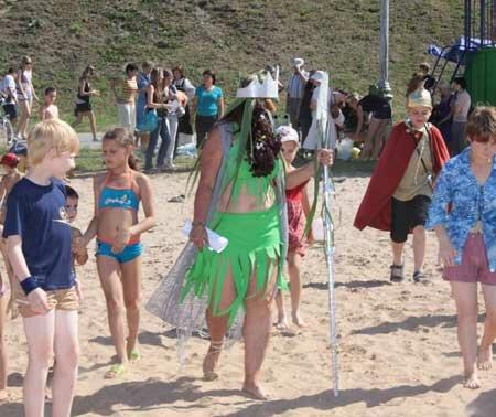 день нептуна в лагере