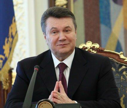 смешной президент янукович