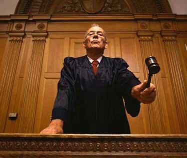 судья на суде